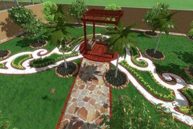 زراعة وتنسيق الحدائق بالرياض